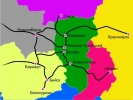 Схема проезда к санаторию - Катунь