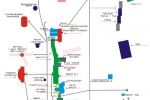 План-схема санатория Янган-тау
