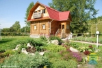 Санаторий Ключи - деревянные коттеджи, Общий вид