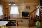 Санаторий Ключи - деревянные коттеджи, Гостиная