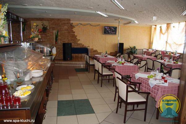Санаторий Ключи - Ресторан.