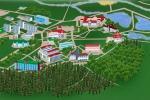 План санатория - Красноусольск