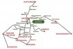 Схема проезда к санаторию - Лесная Новь