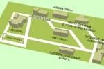 Схема териитории санатория Металлург