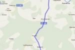 Схема проезда к санаторию - Нижне Ивкино