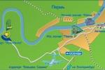 Схема проезда к санаторию - Усть-Качка
